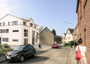 Erstbezug einer tollen 3-Zimmer-Wohnung mit hochwertiger Ausstattung und großem Balkon, 41352 Korschenbroich, Etagenwohnung