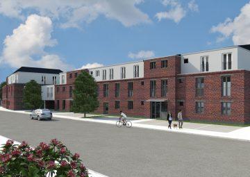 Großzügige 3-Zimmer-Wohnung mit großer Terrasse in Sonnenlage, 41352 Korschenbroich, Etagenwohnung